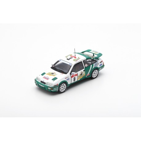 SPARK S2626 FORD Sierra RS Cosworth N°8 Vainqueur Tour de Corse - Rally de France 1988-D. Auriol - B. Occelli