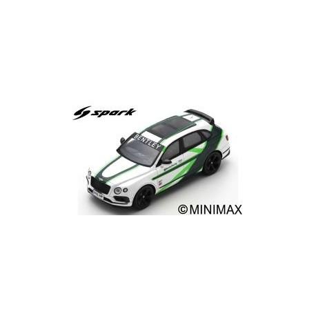 SPARK S7792 BENTLEY Bentayga GT3 livery 2019
