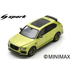 SPARK S7794 BENTLEY Bentayga Pikes Peak Edition Limitée par Mulliner 2018