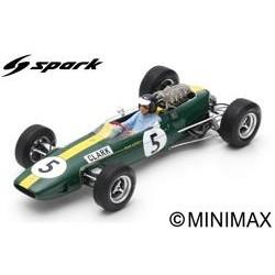 SPARK 18S416 LOTUS 33 N°5 Vainqueur GP Angleterre 1965 Jim Clark