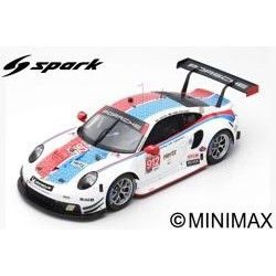 SPARK 18US007 PORSCHE 911 RSR N°912 Porsche GT Team 3ème GTLM Class 24h Daytona 2019 E.Bamber-L.Vanthoor-M.Jaminet (300ex)