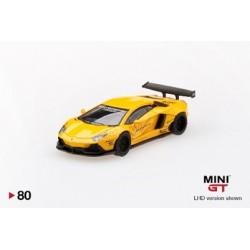 MGT00080-L LAMBORGHINI Aventador LB?Works Volcano Yellow LHD