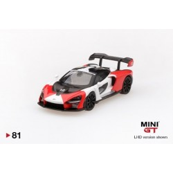 MGT00081-L MCLAREN Senna Orange / White LHD
