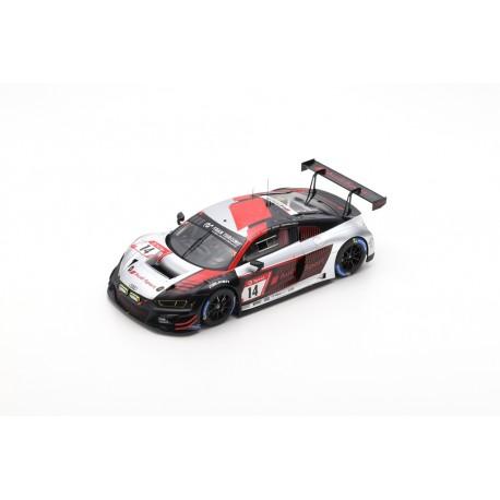 SPARK 18SG039 AUDI R8 LMS N°14 Audi Sport Team Car Collection 3ème 24H Nürburgring 2019