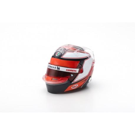 SPARK 5HF022 CASQUE Kimi Räikkönen 2019 Alfa Romeo F1 1/5ème