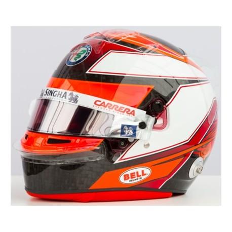 SPARK HSP045 CASQUE Kimi Räikkönen 2019 Alfa Romeo F1 1/8ème