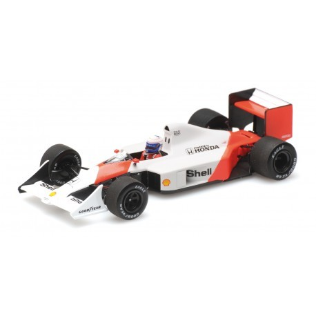 MINICHAMPS 537884399 MCLAREN MP4/4B TEST CAR PROST 1988