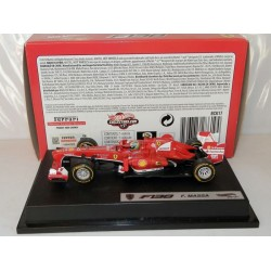 HOT WHEELS BCK17 FERRARI F1 F138 N 4 SEASON 2013 FELIPE MASSA 1.43