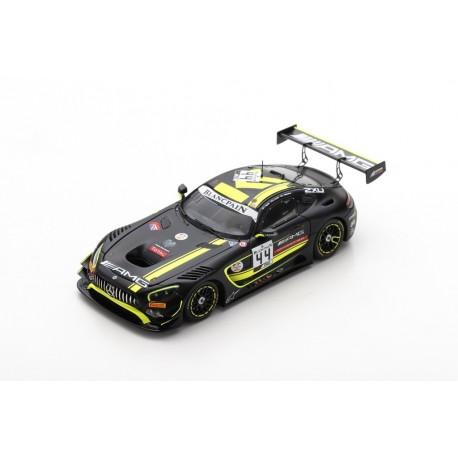 SPARK SB264 MERCEDES-AMG GT3 N°44 Mercedes-AMG Team Strakka Racing 24H Spa 2019 T. Vautier - L. Williamson - G. Paffett (300ex)