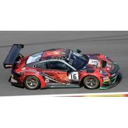 SPARK SB271 PORSCHE 911 GT3 R N°16 Modena Motorsports 24H Spa 2019 J. Shen - P. Descombes - B. Simonsen - M. Beche (300ex)