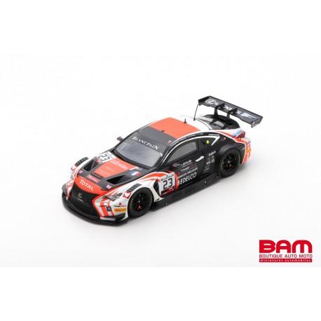 SPARK SB272 LEXUS RCF GT3 N°23 Tech 1 Racing 24H Spa 2019 E. Cayrolle - B. Delhez - F. Barthez - T. Buret (500ex)