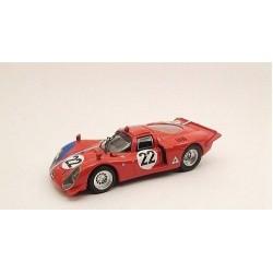 BEST MODEL 9419 ALFA ROMEO 33.2 PARIS 1968 No22 1.43