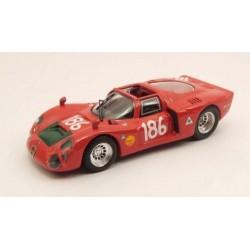 BEST MODEL 9422 ALFAROMEO 33.2 SPIDER TARGA 1968 No186 1.43