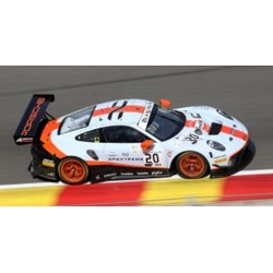 SPARK 18SB012 PORSCHE 911 GT3 R N°20 GPX Racing-Vainqueur 24H SPA 2019-R. Lietz - M. Christensen - K. Estre (750 ex)