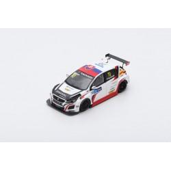 SPARK SA180 PEUGEOT 308 TCR N°70 DG Sport Competition Race 1 WTCR Macau Grand Prix 2018- Mato Homola (300 ex)