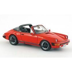 NEO NEO43247 PORSCHE 911 CARRERA CAB.USA 1985 ROUGE 1.43