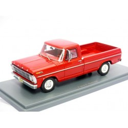 NEO NEO44845 FORD F100 PICK-UP ROUGE 1.43