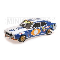 MINICHAMPS 155728511 FORD RS 2600 24H SPA 1972 N°1 GLEMSER/SO 1.18