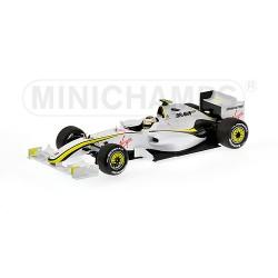 MINICHAMPS 150090023 BRAWN GP BGP 001 2009 No23 BARRICHELLO 1.18