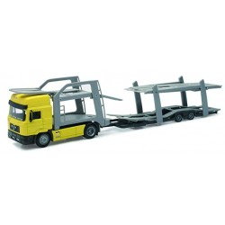 NEW-RAY 15033B MAN F2000 TRANSPORT DE VOITURE 1.43