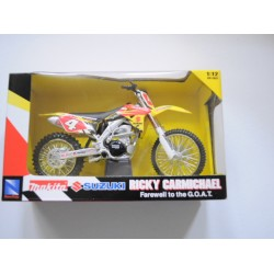 NEW-RAY NWR42633 SUZUKI RM-Z450 SUPERBIKE 2007 N?4 1.12