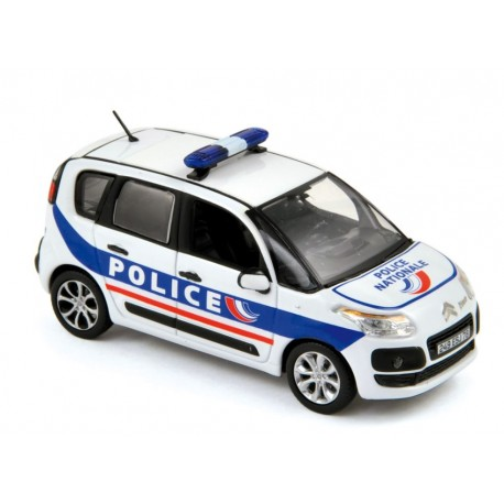 NOREV 155324 CITROEN C3 PICASSO 2011 POLICE 1.43