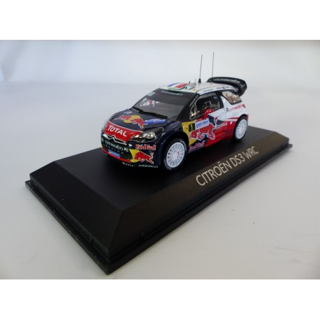 NOREV 155356 CITROEN DS3 WRC N°1 RALLYE FRANCE 2012 1.43