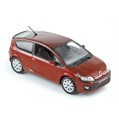NOREV 155404 CITROEN C4 COUPE 2008 ROUGE 1.43