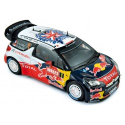 NOREV 181557 CITROEN DS3 WRC GB 2011 No1 CHAMPION 1.18