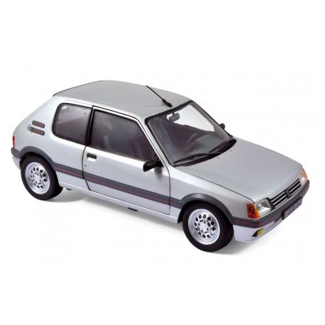 NOREV 184852 PEUGEOT 205 GTI 1.6 1988 GRIS METAL 1.18