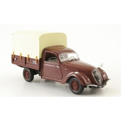 NOREV V5039 PEUGEOT 202 PICK-UP BACHE MARRON 1.43