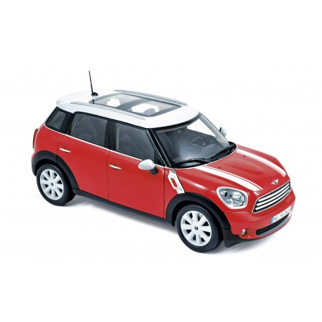 NOREV 183101 MINI COUNTRYMAN COOPER 2010 ROUGE 1.18