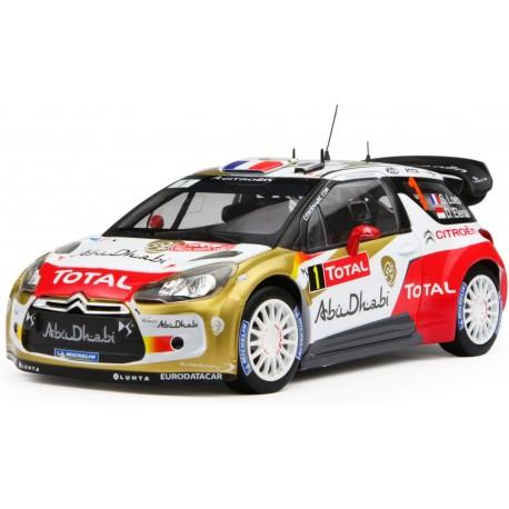 NOREV 181554 CITROEN DS3 WRC MC 2013 LOEB N°1 1.18
