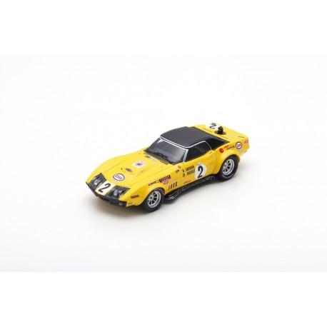 SPARK S2949 CHEVROLET Corvette N°2 24H Le Mans 1970 H. Greder - J.-P. Rouget