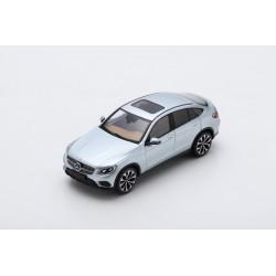 SPARK S8182 MERCEDES-Benz GLC Coupe 2016 - Diamond Silver Metallic