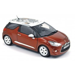 NOREV 181542 CITROEN DS3 2010 ROUGE 1.18