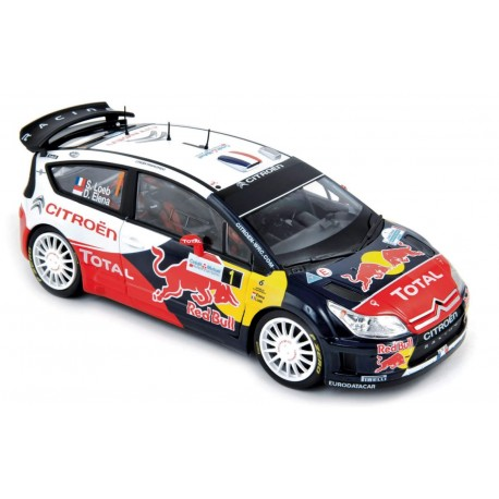 NOREV 181551 CITROEN C4 WRC 1ER ALSACE 2010 LOEB 1.18
