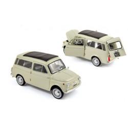 NOREV 187721 FIAT 500 JARDINIERE 1960 IVOIRE 1.18