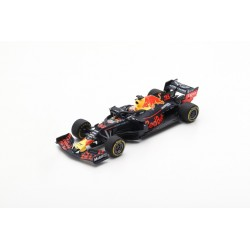 SPARK S6049 RED BULL ASTON MARTIN RB15 N°33 3ème GP USA 2019- 100ème GP F1- Max Verstappen avec Pit Board