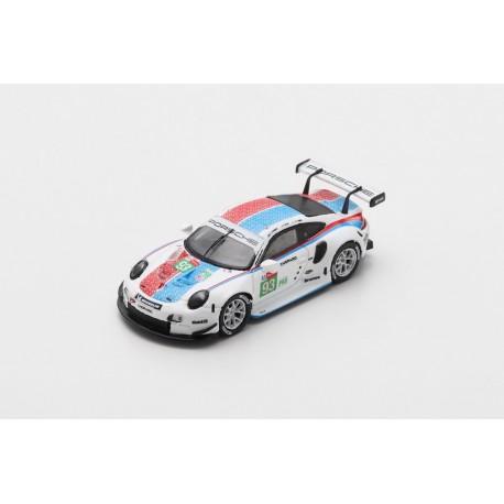 SPARK 87S153 PORSCHE 911 RSR N°94 Porsche GT Team 24H Le Mans 2019 S. Müller - M. Jaminet - D. Olsen 1.87