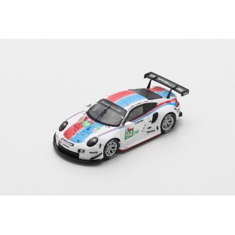 SPARK 87S152 PORSCHE 911 RSR N°93 Porsche GT Team 3ème LMGTE Pro class 24H Le Mans 2019 P. Pilet - E. Bamber - N. Tandy 1.87
