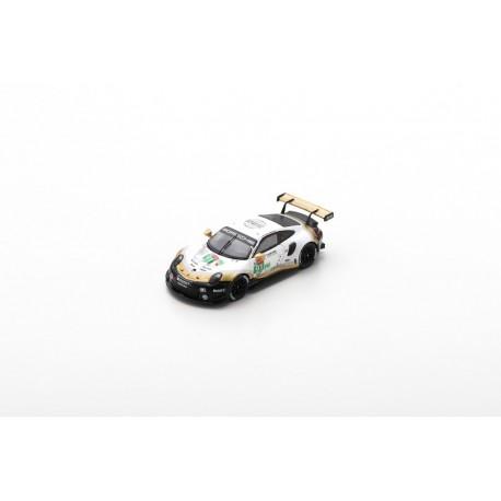 SPARK 87S150 PORSCHE 911 RSR N°91 Porsche GT Team 2ème LMGTE Pro class 24H Le Mans 2019 R. Lietz - G. Bruni - F. Makowiecki 1.87