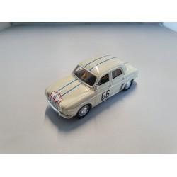 SPARK HP02 RENAULT Dauphine 1093 N°66 Rallye Esculape 1962 H. Pescarolo 1.43