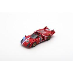 SPARK S8800 ALFA ROMEO T33/2 No.36 24H Le Mans 1969-T. Pilette - R. Slotemaker