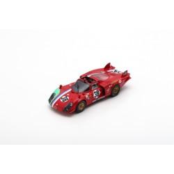 SPARK S8801 ALFA ROMEO T33/2 No.38 24H Le Mans 1969-G. Gosselin 1.43
