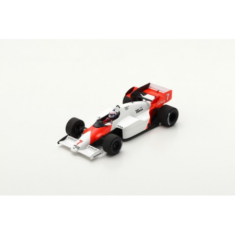 SPARK S5396 MCLAREN MP4-2 No.7 Winner German GP 1984-Alain Prost