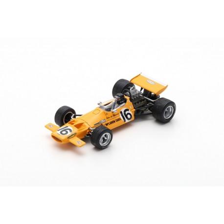 SPARK S7150 MCLAREN M7D No.16 French GP 1970-Andrea de Adamich
