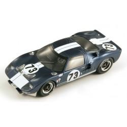 SPARK 43DA65 FORD GT40 N°73 1er 12H Daytona Continen