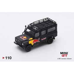 MINI GT MGT000110-L LAND ROVER Defender 110 red bull LUKA 1.64