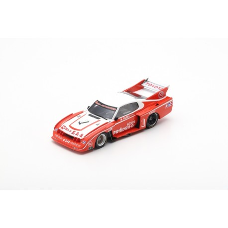 SPARK SJ095 TOYOTA Celica LB Turbo N°1 Vainqueur Inter 200 Mile Fuji 1979 Nobuhide Tachi (300ex.)